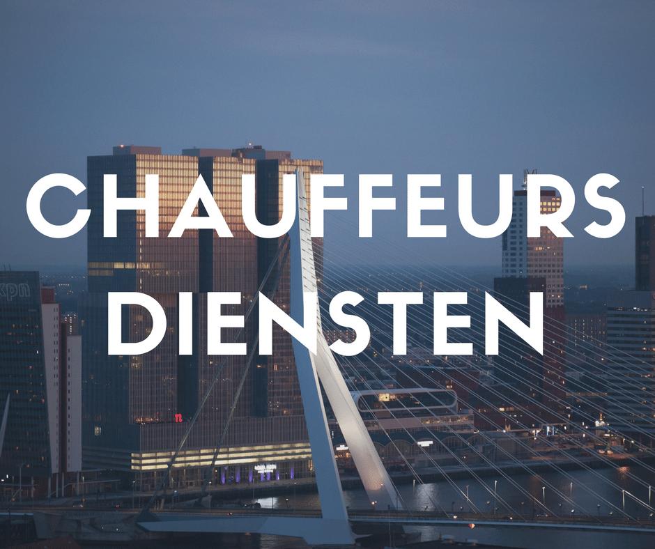 Chauffeursdiensten - foto zwaan Rotterdam